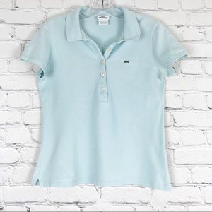 Lacoste Baby Blue Polo Shirt